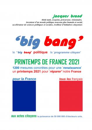 BIG BANG le PRINTEMPS DE FRANCE 2021