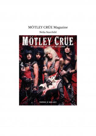 MÖTLEY CRÜE Magazine