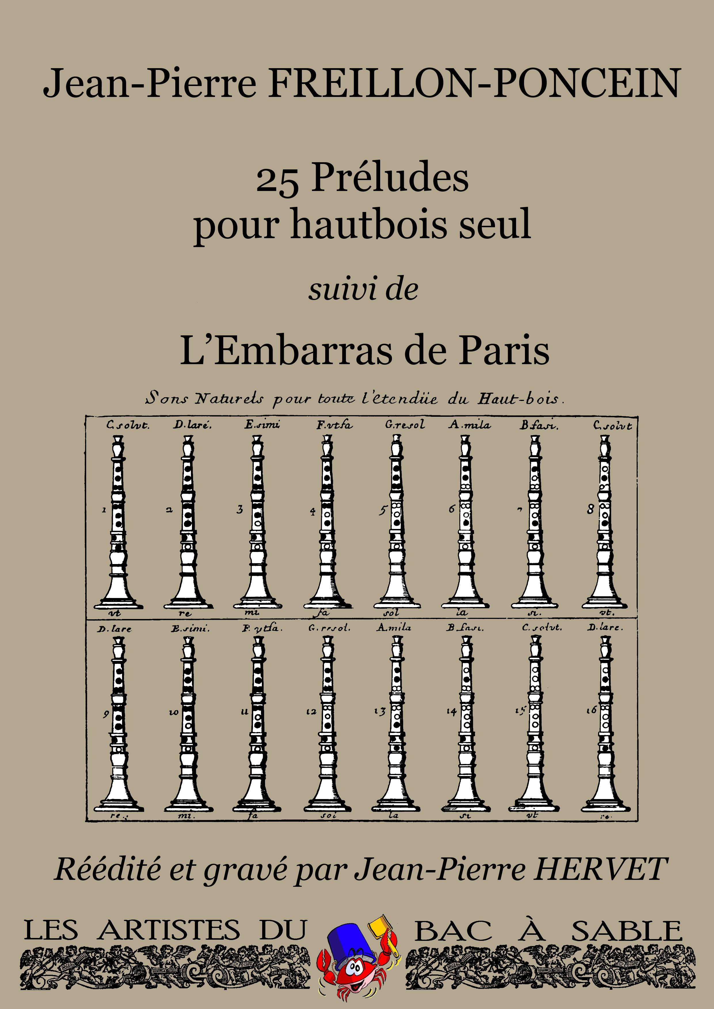 25 Préludes et L'Embarras de Paris