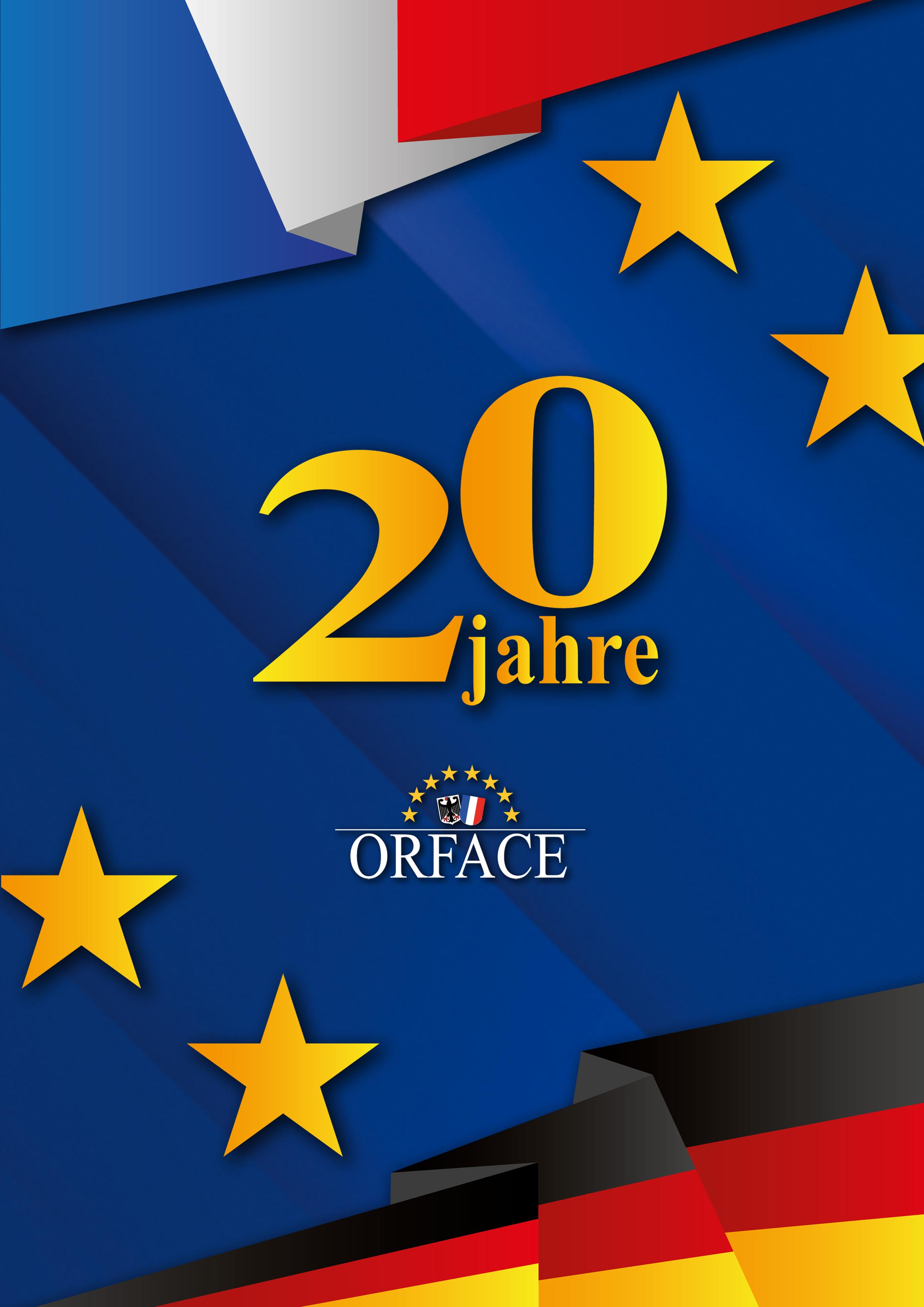 20ème anniversaire de l'ORFACE - DE