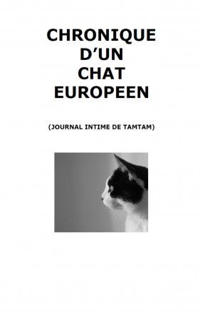 Chronique d'un chat européen