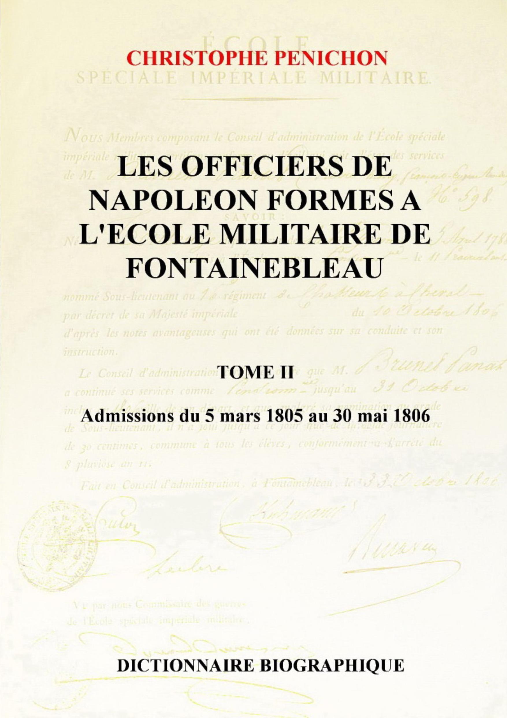 Les Officiers de Napoléon, Tome II