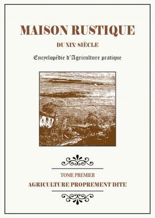 MAISON RUSTIQUE - 1 - Agriculture