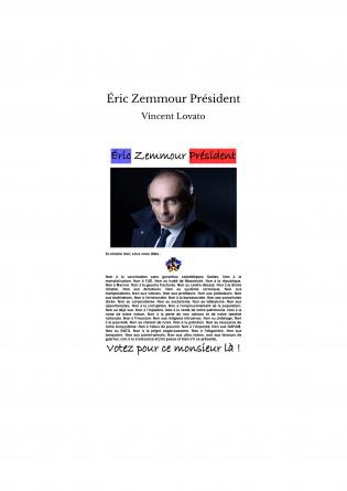 Éric Zemmour Président