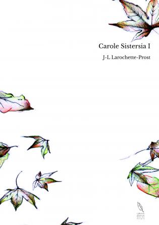 Carole Sistersia I