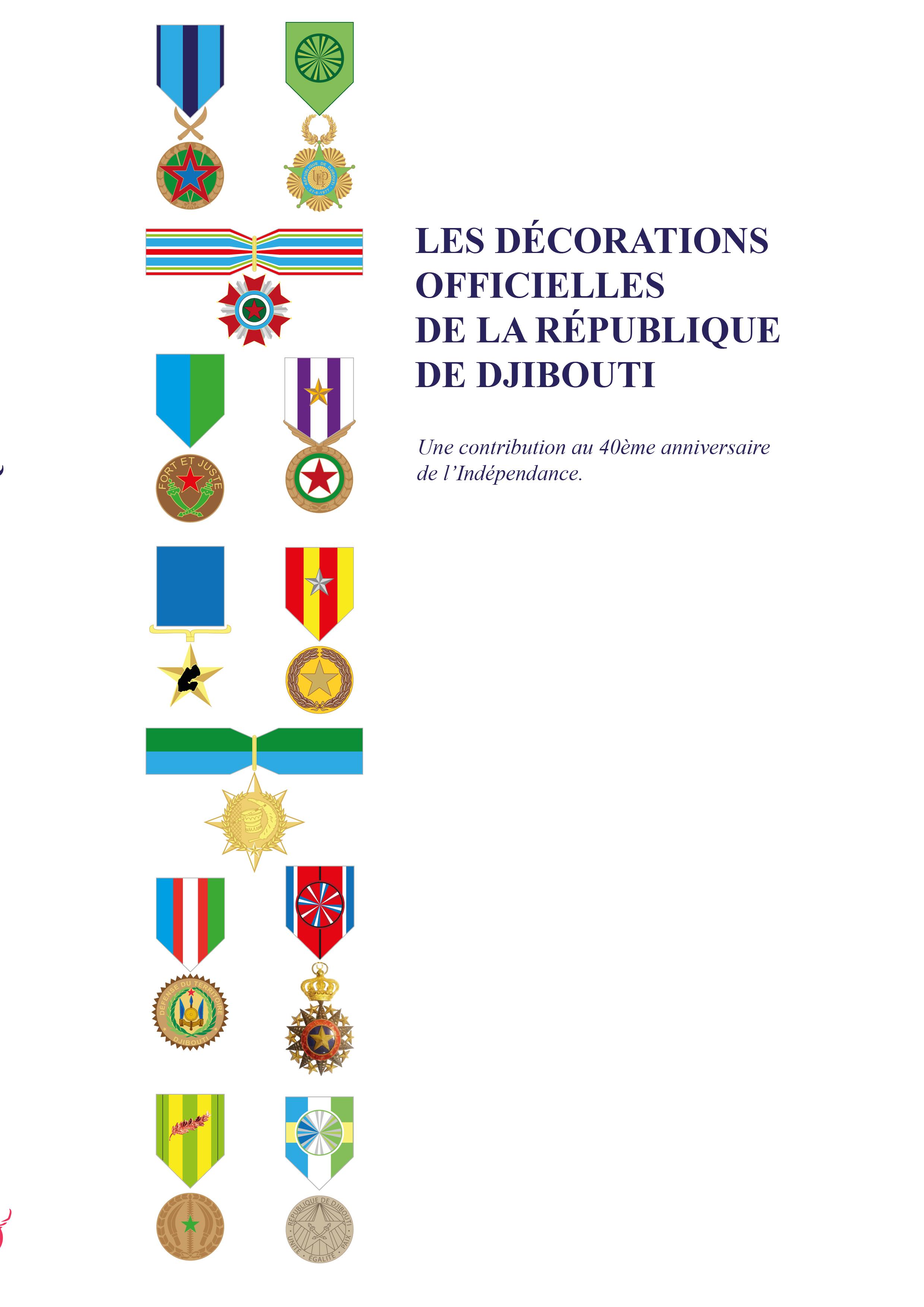 Décoration officielles Djibouti
