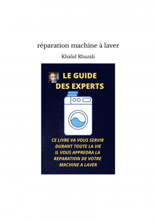 réparation machine à laver