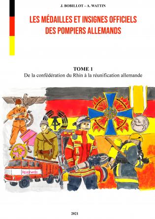 INSIGNES DES POMPIERS ALLEMANDS - T1