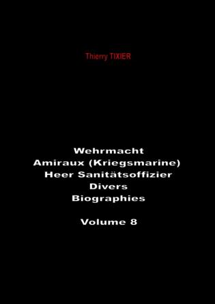 Wehrmacht - Amiraux (Kriegsmarine)