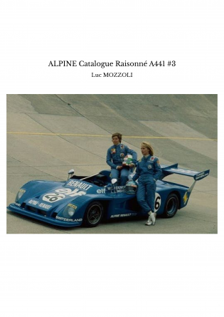 ALPINE Catalogue Raisonné A441 #3