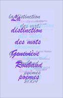 La distinction des mots