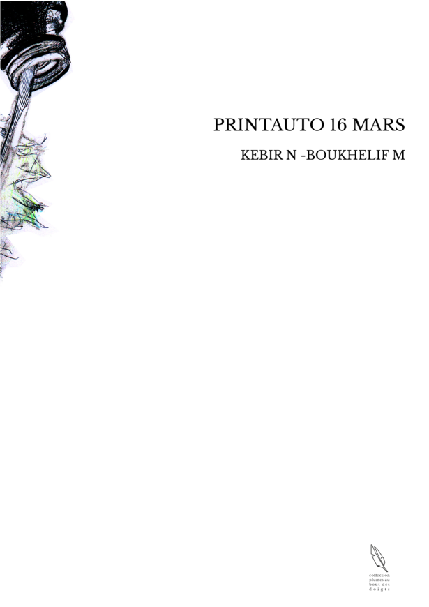 PRINTAUTO 16 MARS
