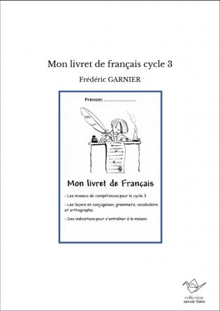 Mon livret de français cycle 3