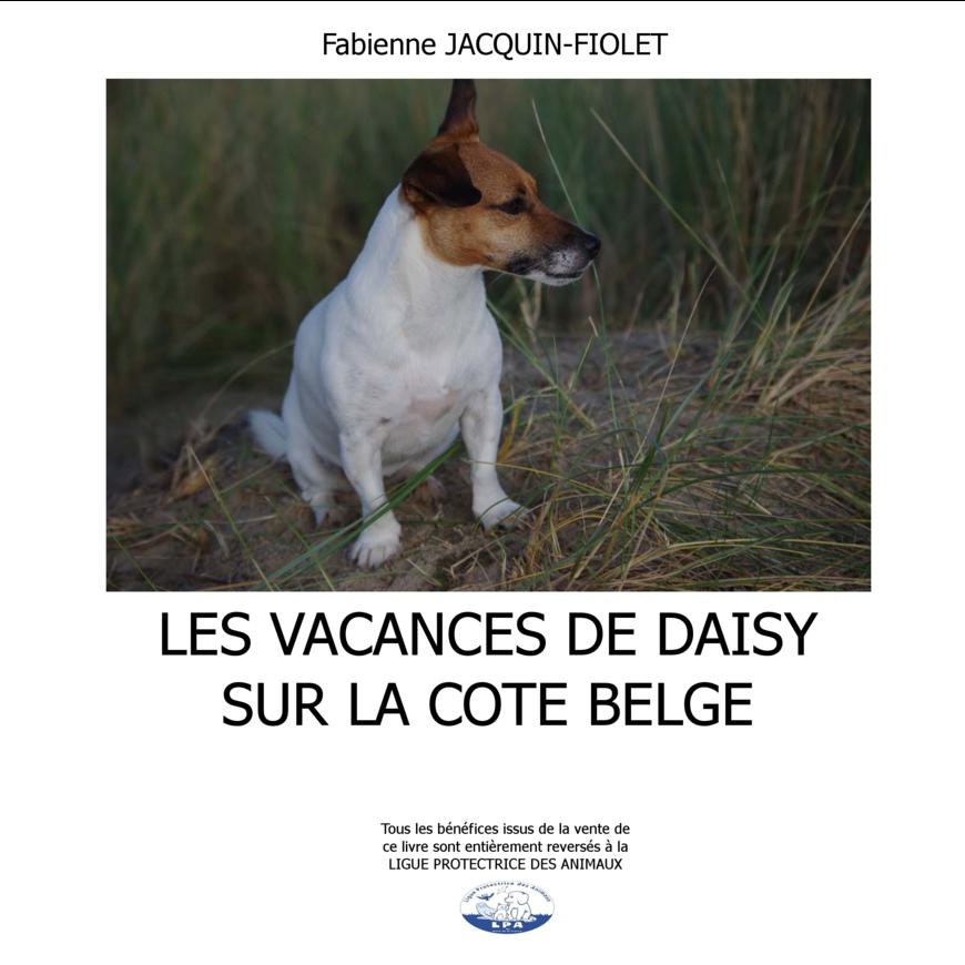 Daisy en vacances sur la Côte Belge