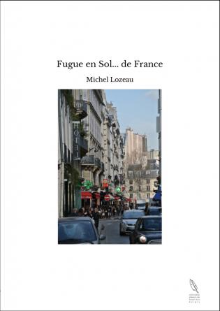 Fugue en Sol... de France