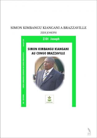 SIMON KIMBANGU KIANGANI A BRAZZAVILLE