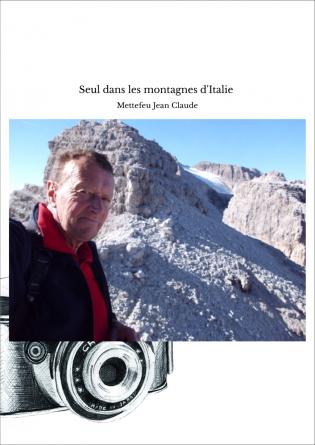 Seul dans les montagnes d'Italie