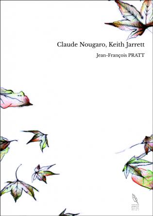 Claude Nougaro, Keith Jarrett