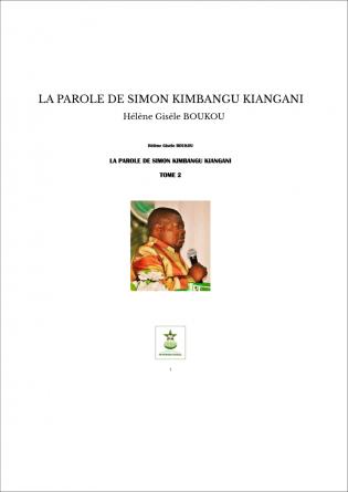 LA PAROLE DE SIMON KIMBANGU KIANGANI