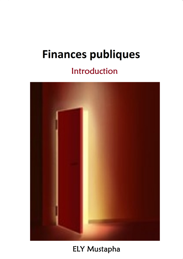 Finances publiques. Introduction