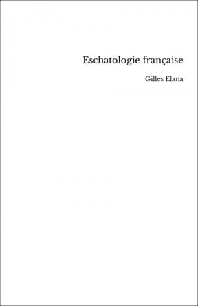 Eschatologie française