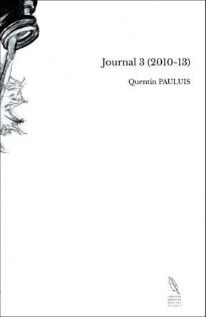 Journal 3 (2010-13)
