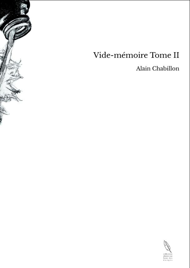 Vide-mémoire Tome II