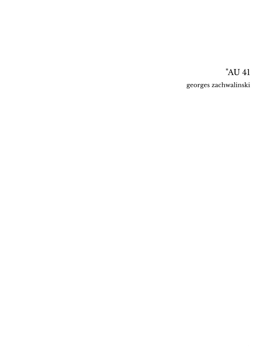 """AU 41"