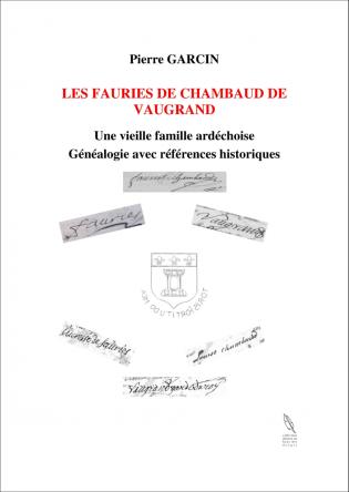 LES FAURIES DE CHAMBAUD DE VAUGRAND