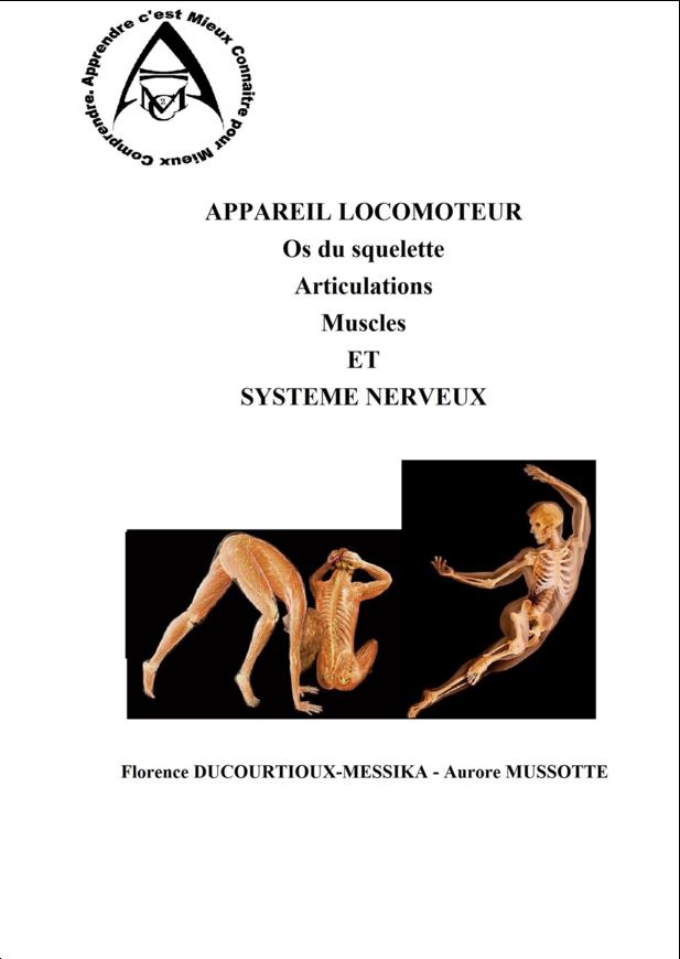APPAREIL LOCOMOTEUR ET SYSTEME NERVEUX