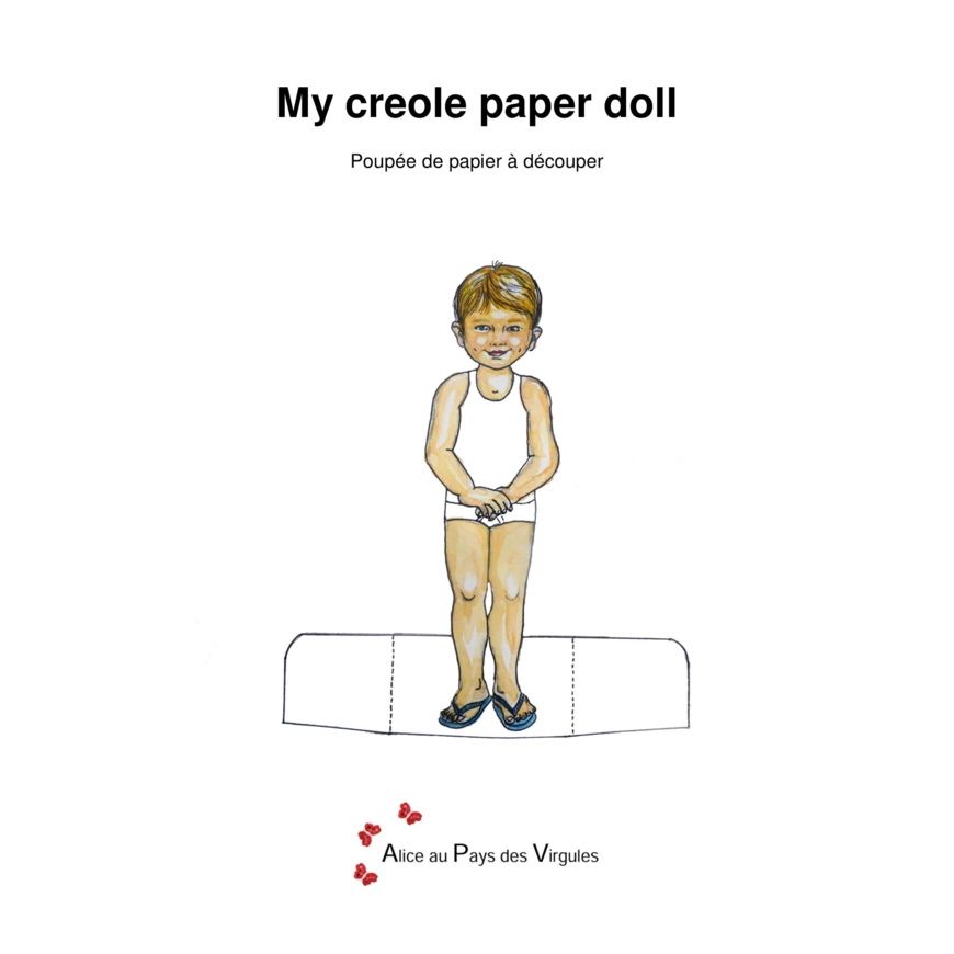 My creole paper doll 2
