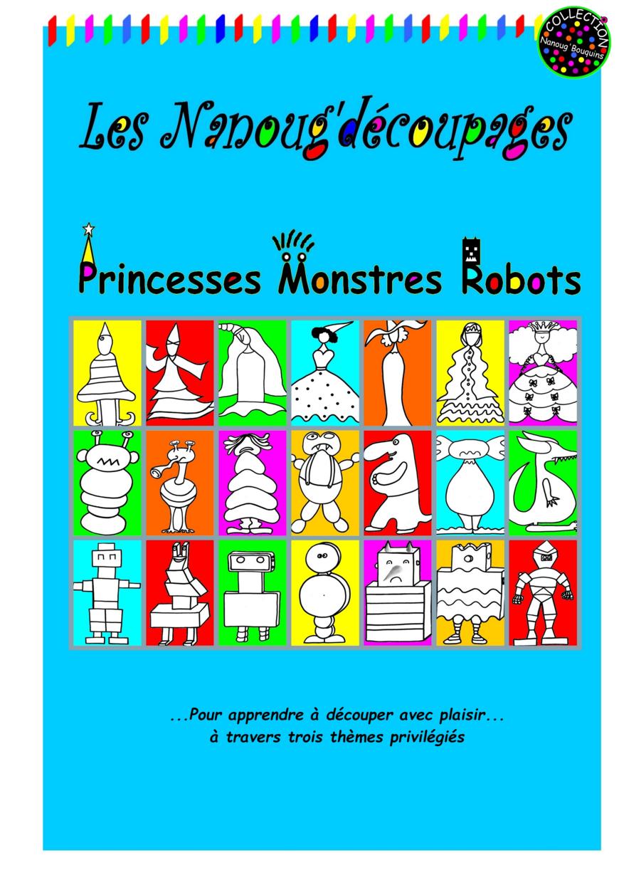 Nanoug'découpages Princesses & Co