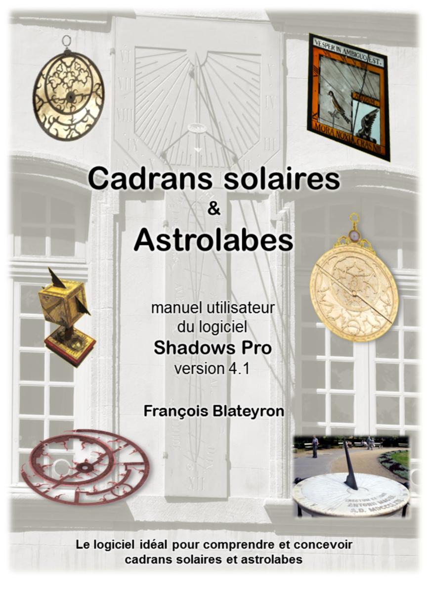Cadrans solaires et astrolabes V4.1