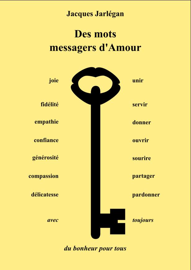 Des mots messagers d'Amour