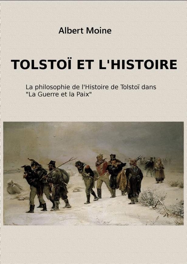 Tolstoï et l'Histoire
