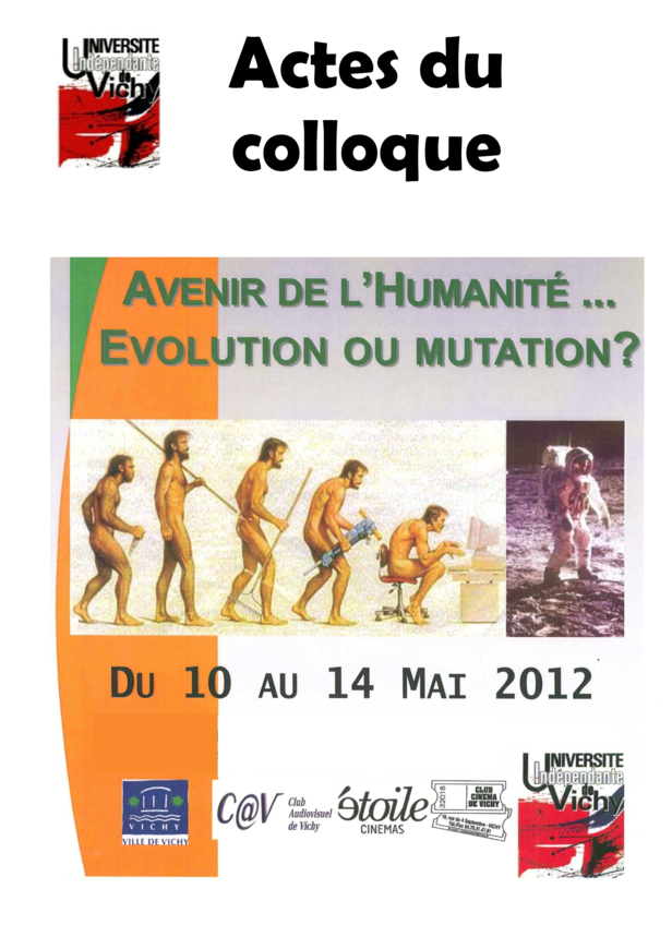 Actes du colloque 2012