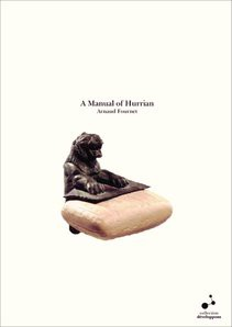 A Manual of Hurrian