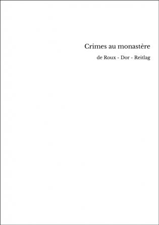Crimes au monastère
