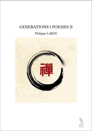 GENERATIONS I POESIES II