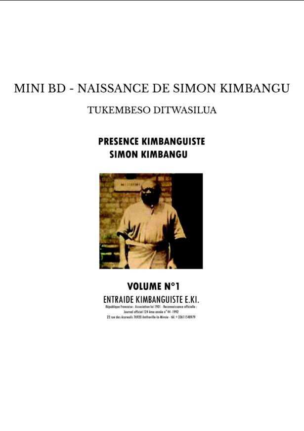MINI BD - NAISSANCE DE SIMON KIMBANGU