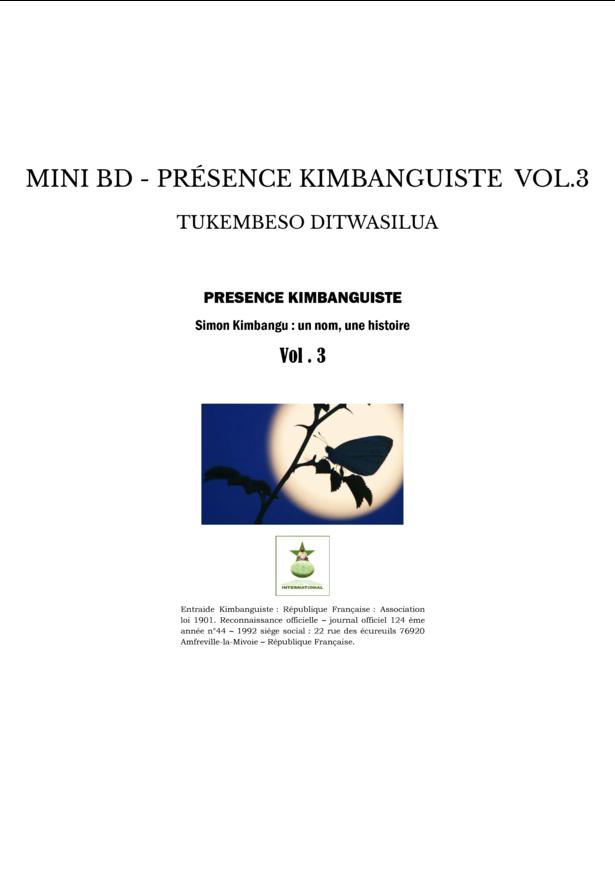 MINI BD - PRÉSENCE KIMBANGUISTE VOL.3