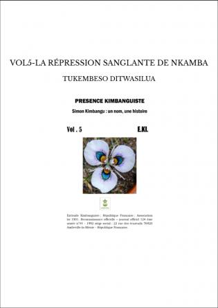 VOL5-LA RÉPRESSION SANGLANTE DE NKAMBA
