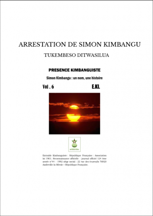 ARRESTATION DE SIMON KIMBANGU