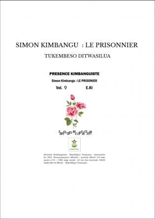 SIMON KIMBANGU : LE PRISONNIER
