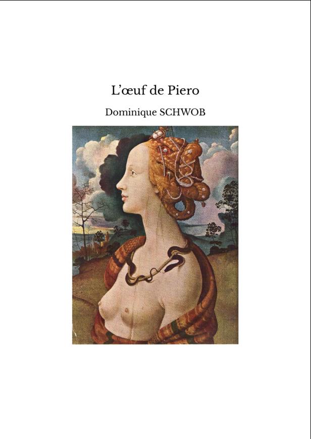 L'œuf de Piero