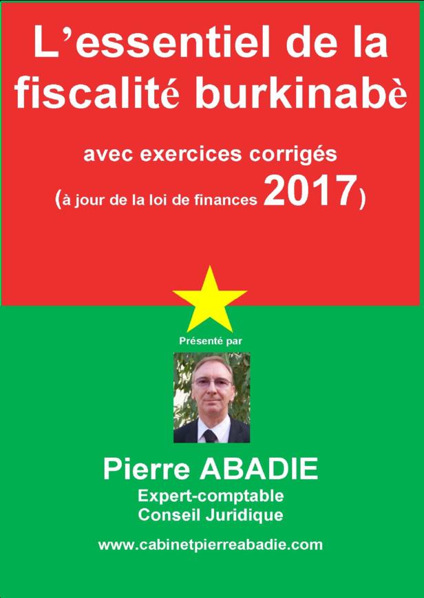 Essentiel de la fiscalité Burkinabè 20