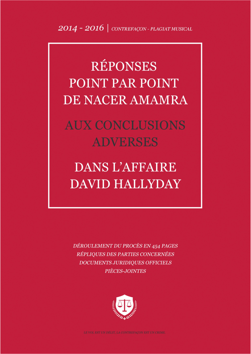 Affaire Hallyday Documents juridiques