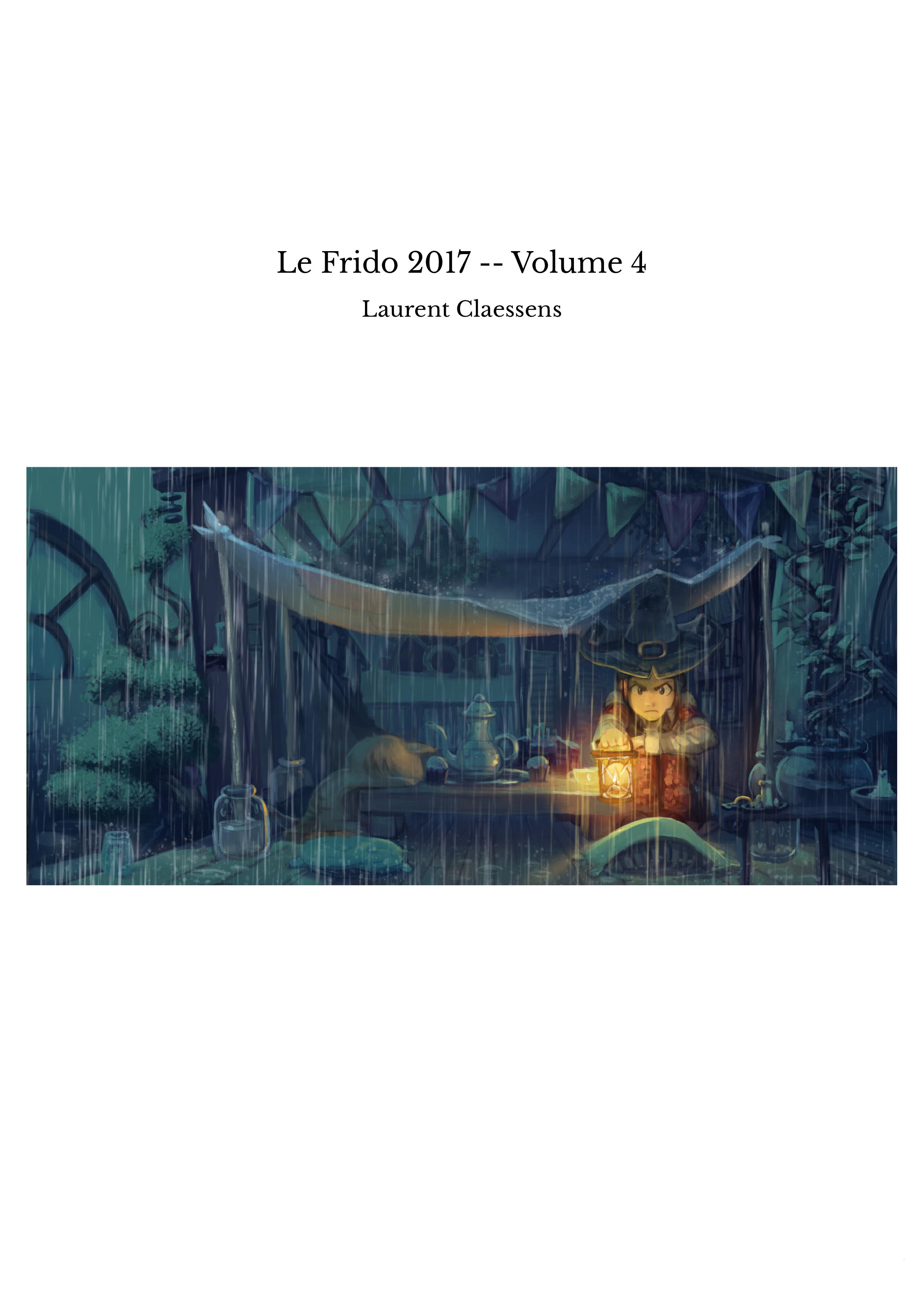 Le Frido 2017 -- Volume 4