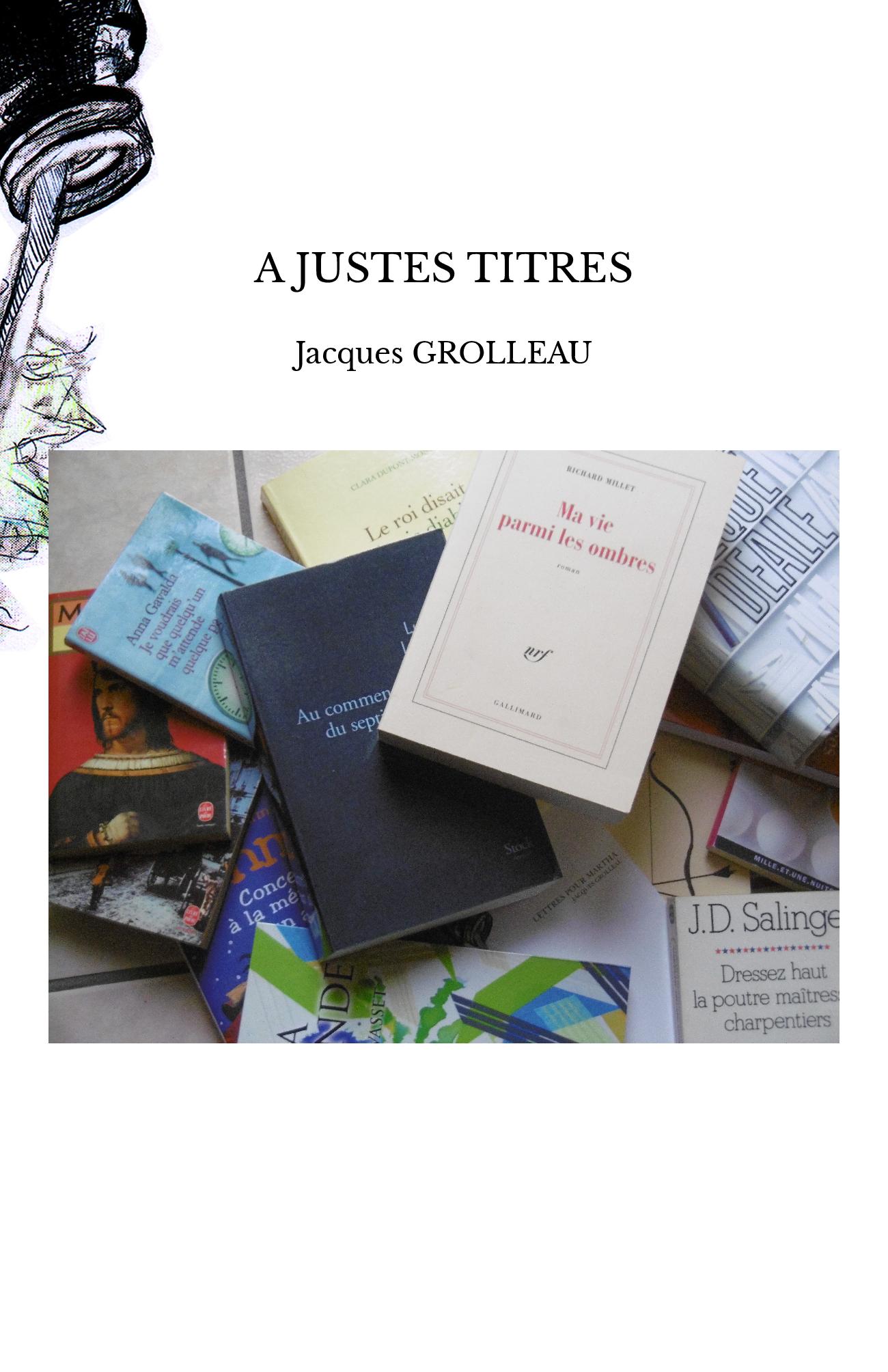 A JUSTES TITRES