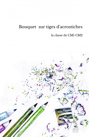 Bouquet sur tiges d'acrostiches